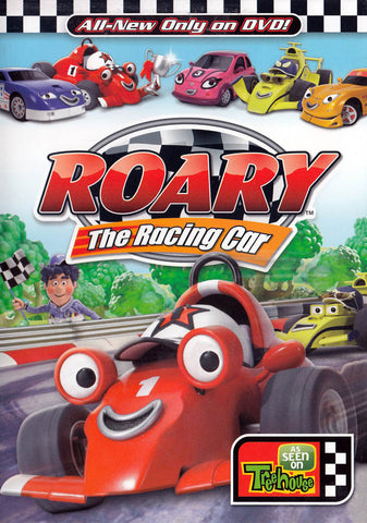 Roary the Racing Car (MAPLE) DVD Movie
