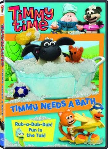 Timmy Time - Timmy Needs a Bath (All) DVD Movie