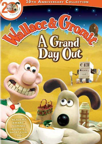Wallace and Gromit - A Grand Day Out (LG) DVD Movie