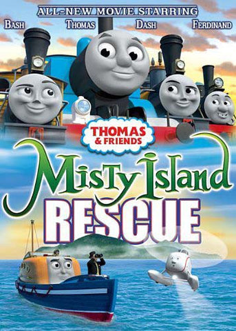 Thomas And Friends - Misty Island Rescue DVD Movie