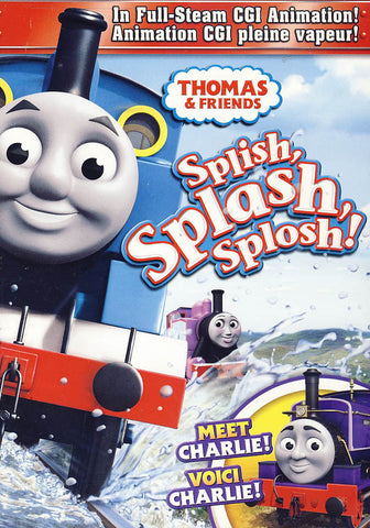 Thomas And Friends - Splish, Splash, Splosh! (Bilingual) DVD Movie