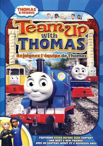 Thomas And Friends - Team Up With Thomas(Bilingual) DVD Movie