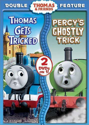 Thomas And Friends - Thomas Gets Tricked / Percy s Ghostly Trick (Double Feature) DVD Movie