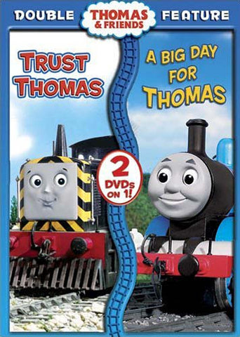Thomas And Friends - Trust Thomas/A Big Day for Thomas (Double Feature) DVD Movie