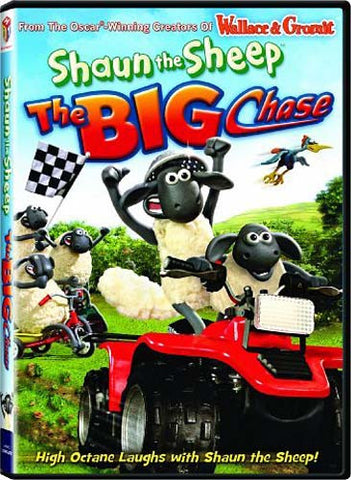 Shaun the Sheep: The Big Chase DVD Movie
