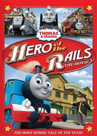 Thomas and Friends - Hero of the Rails (Bilingual) DVD Movie