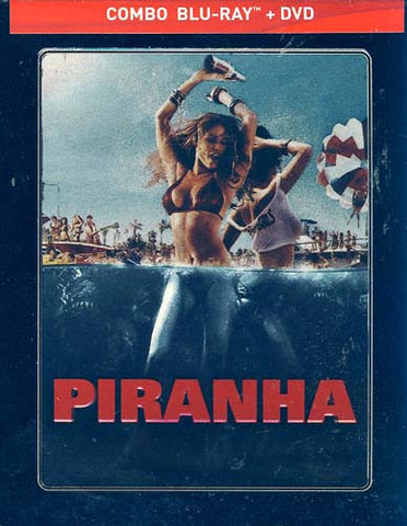 Piranha - Limited SteelBook Edition (Blu-ray+DVD Combo) (Bilingual) (Blu-ray) BLU-RAY Movie