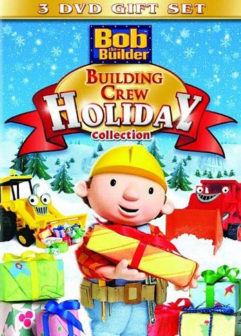 Bob the Builder - Building Crew Holiday Collection (3 DVD Gift Set) (Boxset) DVD Movie