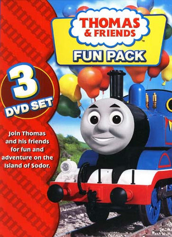 Thomas and Friends - Fun Pack (Boxset) DVD Movie