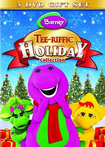 Barney - Tee-riffic Holiday Collection (3-DVD Gift Set) (Boxset) DVD Movie