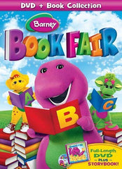 Barney - Book Fair (DVD + Book Collection)