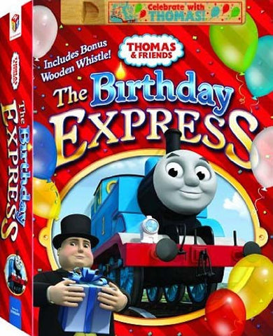 Thomas and Friends - The Birthday Express (With Wooden Whistle) (Boxset) DVD Movie