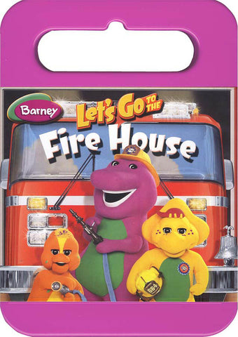 Barney - Let's Go to the Fire House (Kid Case) DVD Movie