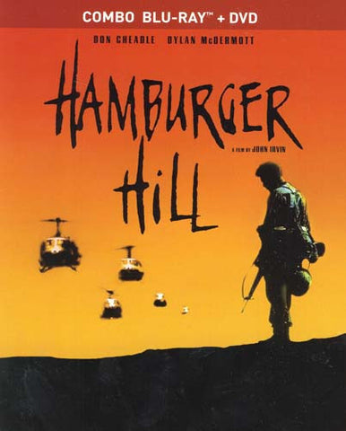 Hamburger Hill (Blu-ray+DVD Combo) (Blu-ray) BLU-RAY Movie