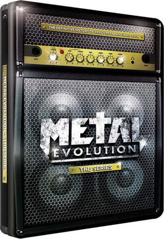 Metal Evolution - The Series (Steel Case) DVD Movie