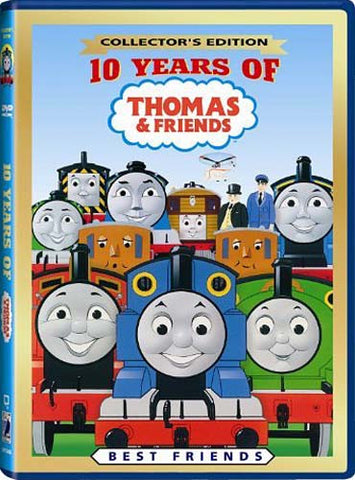 Thomas And Friends - 10 Years of Thomas And Friends - Best Friends DVD Movie