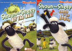 Shaun The Sheep - Off the Baa/Sheep On The Loose (2-Pack) (Boxset)