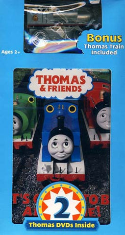 Thomas and Friends - Thomas' Sodor Celebration!/It's Great to Be an Engine (With Toy) (Boxset) DVD Movie