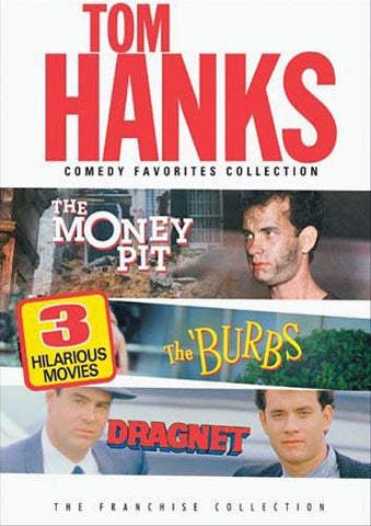 Tom Hanks - Comedy Favourites Collection (The Money Pit/The Burbs/Dragnet) (Bilingual) DVD Movie