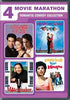 4 Movie Marathon - Romantic Comedy Collection DVD Movie