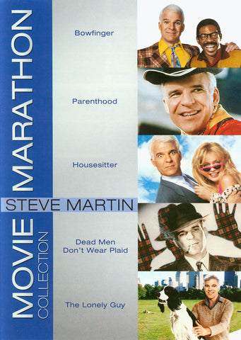 Steve Martin - Movie Marathon Collection (Keepcase) (US version) DVD Movie