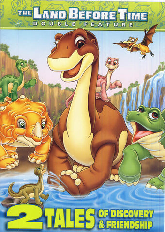 The Land Before Time - (The Great Longneck Migration / Invasion of the Tinysauruses) (Double Feature DVD Movie