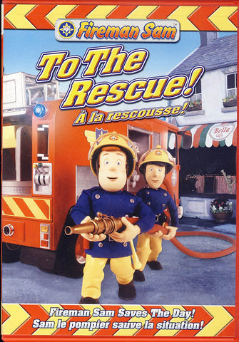 Fireman Sam - To the Rescue! (Bilingual) DVD Movie