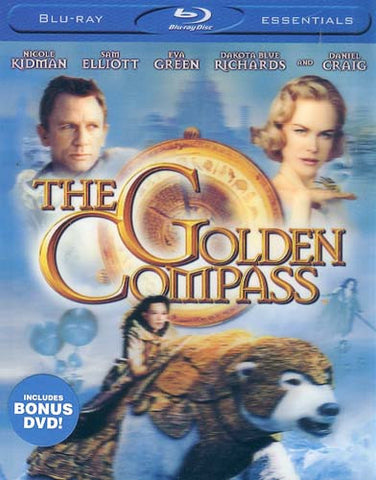 The Golden Compass w/ Bonus DVD (Blu-ray) (Slipcover) BLU-RAY Movie