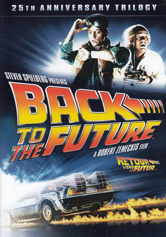 Back to the Future - 25th Anniversary Trilogy (Keepcase) (Bilingual) DVD Movie