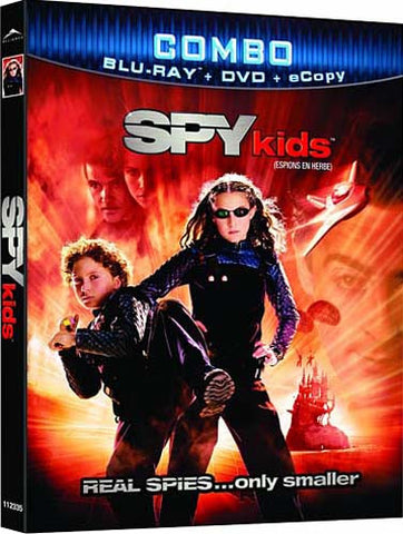 Spy Kids (DVD+Blu-ray+Ecopy Combo) (Blu-ray) (Slipcover) BLU-RAY Movie