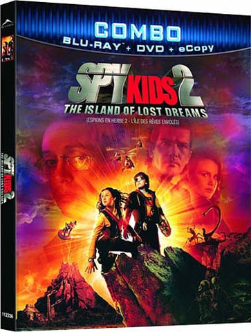 Spy Kids 2 - The Island Of Lost Dreams Combo (DVD+Blu-ray+Ecopy Combo) (Bilingual) (Slipcover) (Blu- DVD Movie