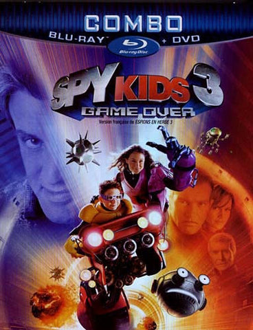 Spy Kids 3 - Game Over Combo (Blu-Ray + Dvd + Ecopy) (Blu-ray) (Slipcover) BLU-RAY Movie
