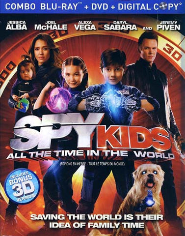 Spy Kids - All The Time In The World (DVD+Blu-ray+Digital Combo) (Blu-ray) (Slipcover) BLU-RAY Movie