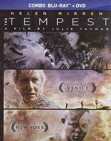 The Tempest (DVD+Blu-ray Combo) (Blu-ray) BLU-RAY Movie