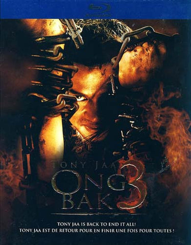 Ong Bak 3 (Blu-ray) (Slipcover) BLU-RAY Movie