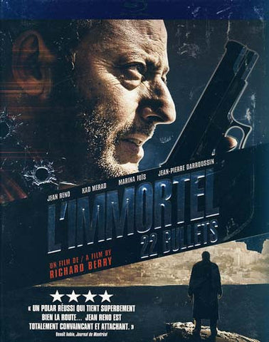 L'immortel (22 Bullets) (Blu-Ray) (Slipcover) BLU-RAY Movie