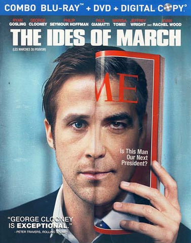 The Ides of March (DVD+Blu-ray+Digital Copy Combo) (Blu-ray) (Slipcover) BLU-RAY Movie