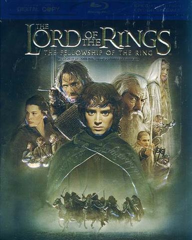 The Lord of the Rings - The Fellowship of the Ring (Blu-ray) (Bilingual) BLU-RAY Movie