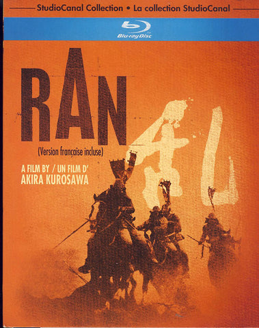 Ran (StudioCanal Collection) (Bilingual) (Blu-ray) (Slipcover) BLU-RAY Movie