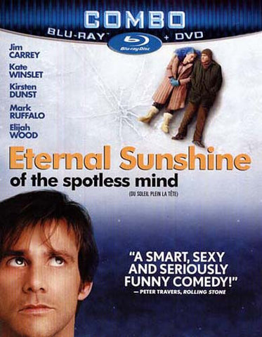 Eternal Sunshine of the Spotless Mind (DVD+Blu-ray Combo) (Blu-ray) (Slipcover) BLU-RAY Movie