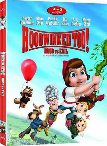 Hoodwinked Too! Hood vs. Evil (Blu-ray) (slipcover) BLU-RAY Movie