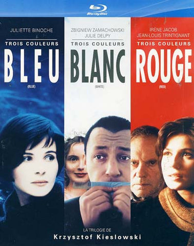 Three Colors Trilogy (Blue / White / Red) (Blu-ray) (Slipcover) BLU-RAY Movie