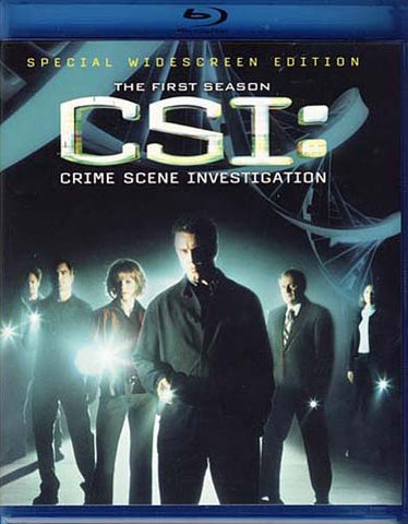 CSI - Crime Scene Investigation - Season 1 (Blu-ray) (Slipcover) BLU-RAY Movie