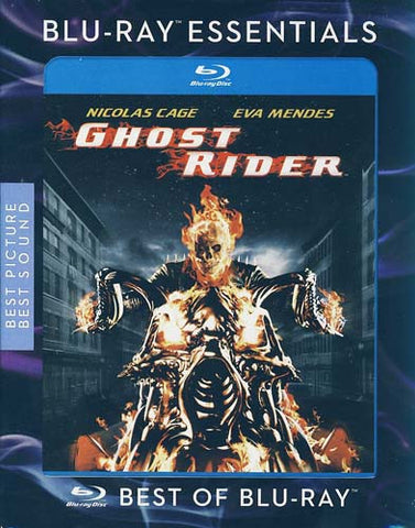 Ghost Rider (Extended Cut) (Blu-ray) (Slipcover) BLU-RAY Movie