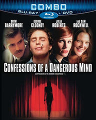 Confessions Of A Dangerous Mind (DVD+Blu-ray Combo) (Blu-ray) (Slipcover)