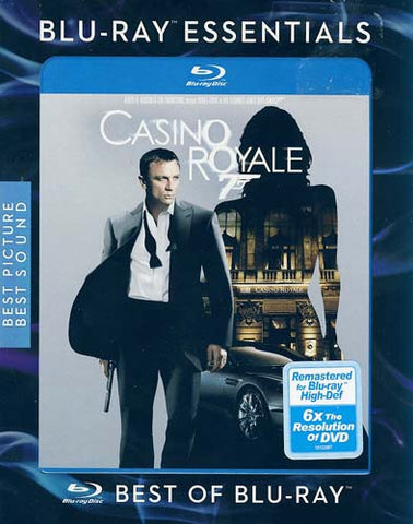 Casino Royale (Blu-ray) (Slipcover) (James Bond) BLU-RAY Movie