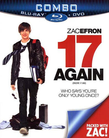 17 Again (DVD+Blu-ray Combo) (Blu-ray) (Slipcover) BLU-RAY Movie