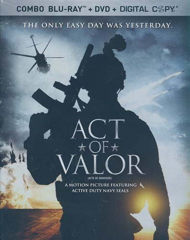 Act Of Valor (DVD+Blu-ray+Digital Combo) (Blu-ray) (Slipcover) BLU-RAY Movie