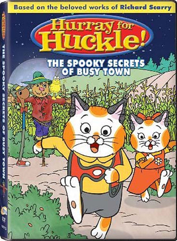 Hurray for Huckle! (The Spooky Secrets of Busy Town) DVD Movie