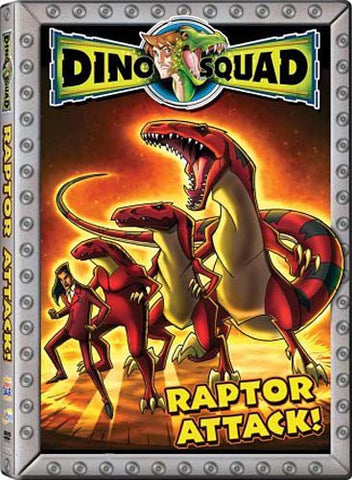 Dino Squad - Raptor Attack DVD Movie